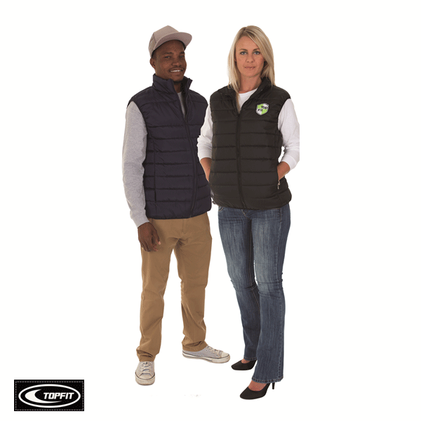 UNISEX PADDED BODY WARMER