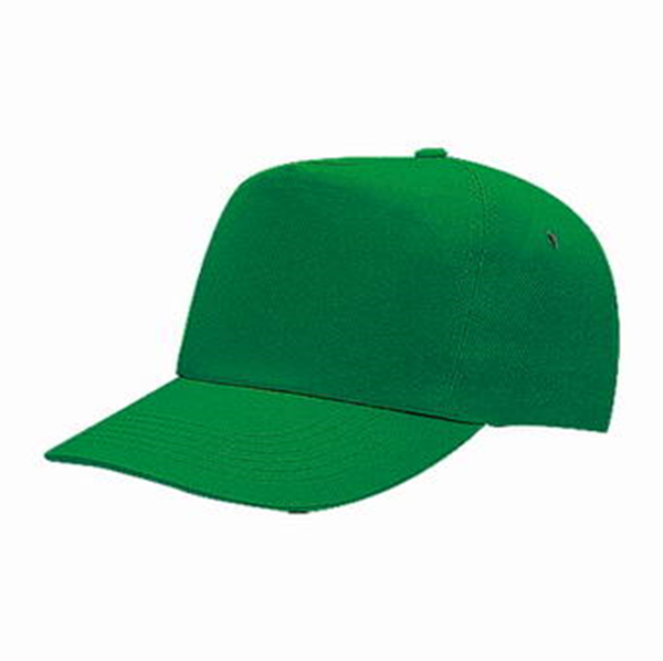 5 PANEL COTTON TWILL CAP WITH FLAP INSIDE