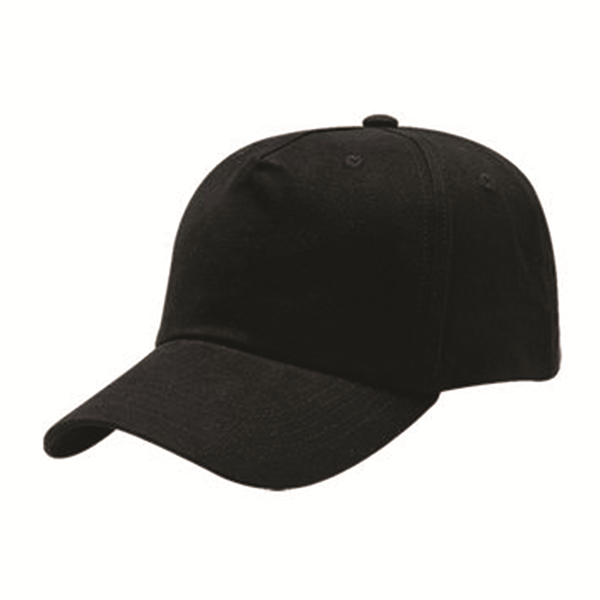 6 PANEL HEAVY BRUSHED COTTON CAP
