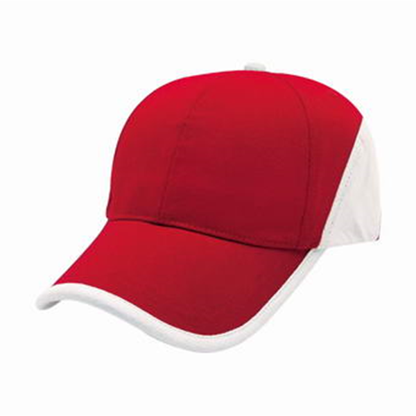 Heavy Brushed Cotton Cap with Binding and Back Panel