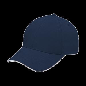 BUDGET BRUSHED COTTON SANDWICH PEAK CAP